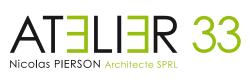Atelier33.be – Nicolas Pierson Architecte SPRL